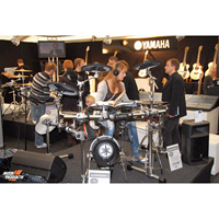 Messestand Yamaha