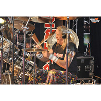 Nicko McBrain, Iron Maiden